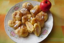 Příprava receptu Tvarohové knedlíky s jablky, krok 8