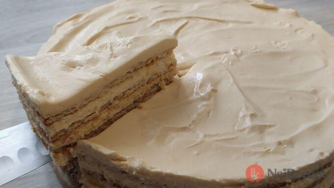 Recept Salkové šílenství - nepečený salkový dort se sušenkami