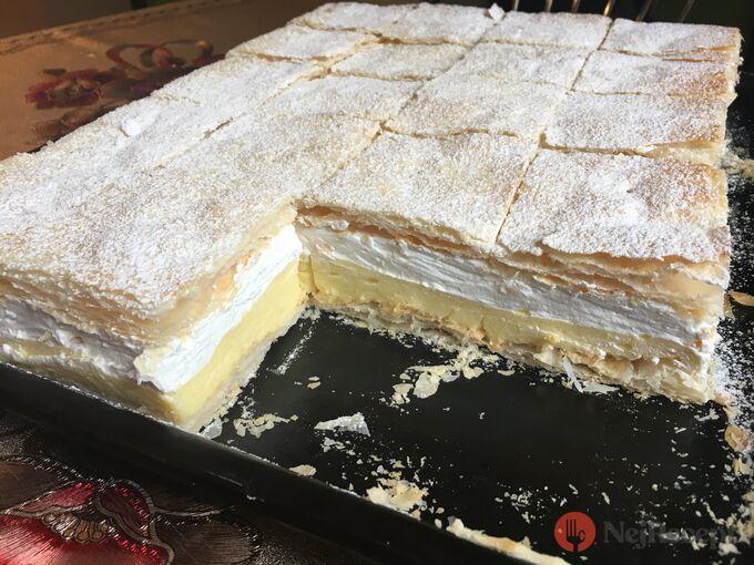 Recept Falešný francouzský krémeš z listového těsta