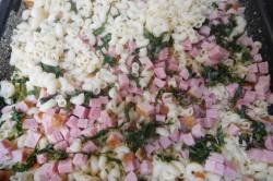 Příprava receptu Zapékané těstoviny s uzeným masem, krok 2