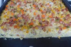 Příprava receptu Zapékané těstoviny s uzeným masem, krok 5