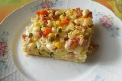 Příprava receptu Zapékané těstoviny s uzeným masem, krok 6