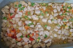 Příprava receptu Rizoto s kuřecím masem a zeleninou, krok 1