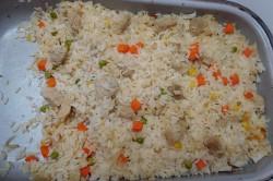 Příprava receptu Rizoto s kuřecím masem a zeleninou, krok 2