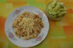 Příprava receptu Rizoto s kuřecím masem a zeleninou, krok 3