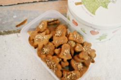 Příprava receptu Žitné vegan perníčky, krok 1