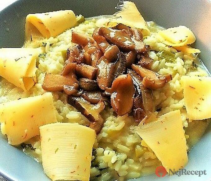 Recept Rizoto s hříbky
