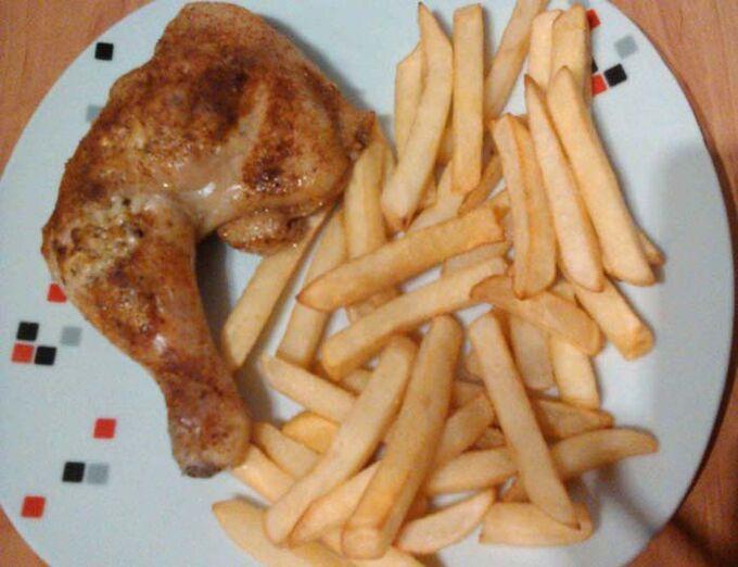 Recept Kuřecí stehna plněná nivou