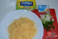 Příprava receptu Pomazánka z uzeného sýra, krok 1