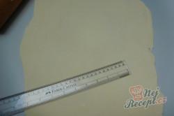 Příprava receptu Meruňkové čtverce s tvarohem, krok 1