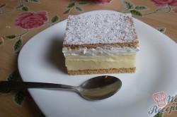 Příprava receptu Lahodné medové řezy FOTOPOSTUP, krok 12