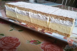 Příprava receptu Lahodné medové řezy FOTOPOSTUP, krok 11