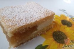 Příprava receptu Mřížkový jablečný koláček s tvarohem FOTOPOSTUP, krok 9