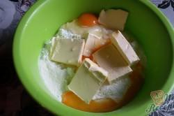 Příprava receptu Mřížkový jablečný koláček s tvarohem FOTOPOSTUP, krok 1