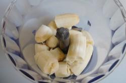Příprava receptu Banánový koktejl, krok 1