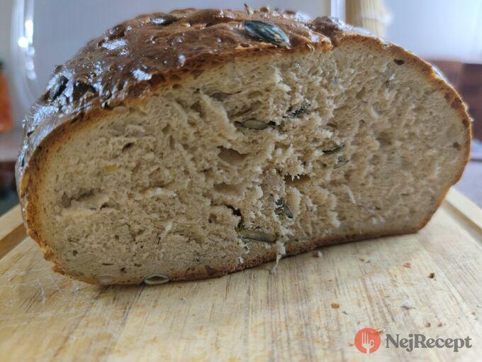 Recept Poctivý domácí chléb se semínky