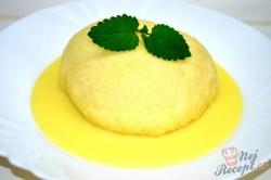 Příprava receptu Kynuté povidlové knedlíky s vanilkovou omáčkou, krok 5