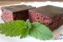 Příprava receptu Čokoládový zákusek bez mouky, krok 10