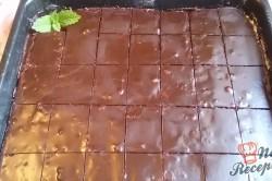 Příprava receptu Čokoládový zákusek bez mouky, krok 9