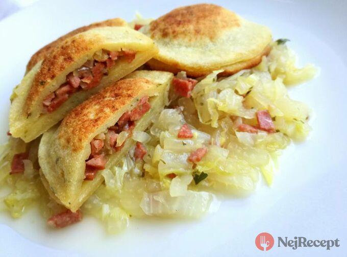 Recept Plněné bramborové taštičky