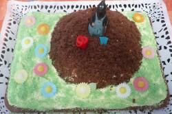 Příprava receptu Krtkův dort k narozeninám, krok 1