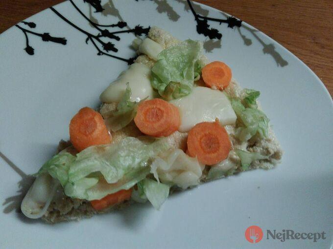 Recept Zdravá pizza