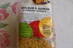 Příprava receptu Bulgur s quinoa a sušenou paprikou, krok 1