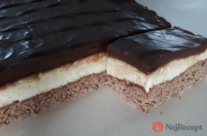Recept Božské čokoládové řezy