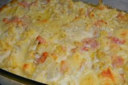 Příprava receptu Zapečený květák se šunkou a sýrem, krok 4