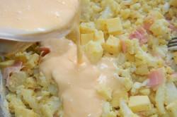 Příprava receptu Zapečený květák se šunkou a sýrem, krok 2