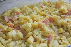 Příprava receptu Zapečený květák se šunkou a sýrem, krok 3