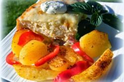 Příprava receptu Zapečený květák se šunkou a sýrem, krok 6