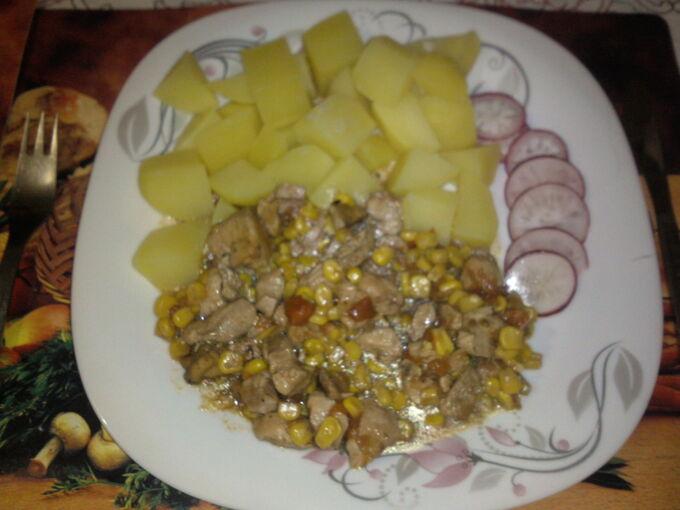 Recept Kuřecí prsa v kukuřici
