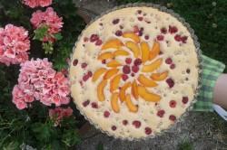 Příprava receptu Dortík s letním ovocem, krok 2