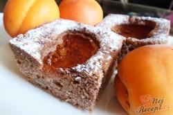 Příprava receptu Meruňkový koláč s ořechovým těstem, krok 1