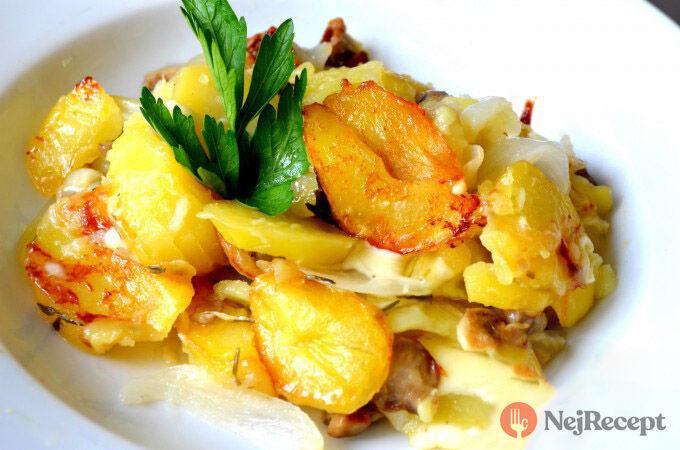 Recept Chalupářské brambory