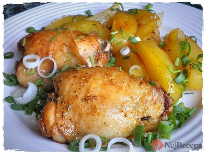 Recept Kuřecí špalíčky s bramborami ze sáčku