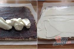 Příprava receptu Maková roláda s tvarohem a povidly, krok 1