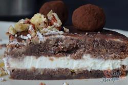 Příprava receptu Cuketový dort s tvarohovým krémem, krok 2