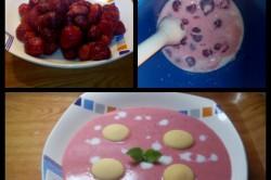 Příprava receptu Osvěžijíci jahodová polévka, krok 1