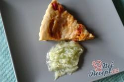 Příprava receptu Zeleninový quiche s mozzarellou, krok 3