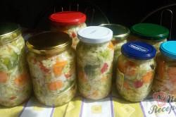 Příprava receptu Nejlepší domácí čalamáda bez zavařování, krok 10