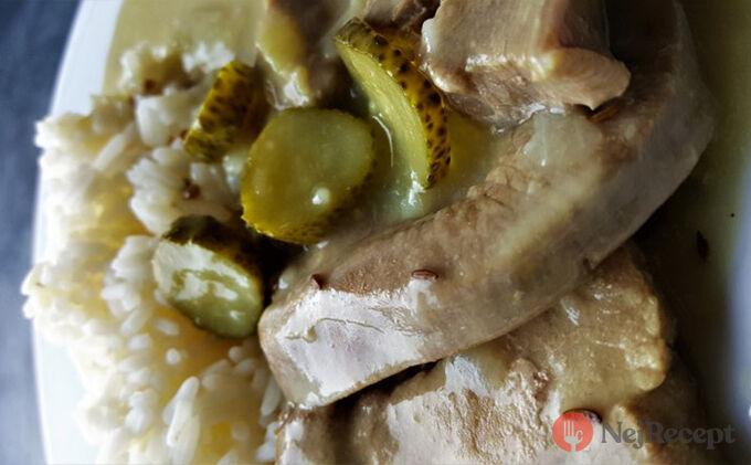 Recept Krůtí znojemská s rýži
