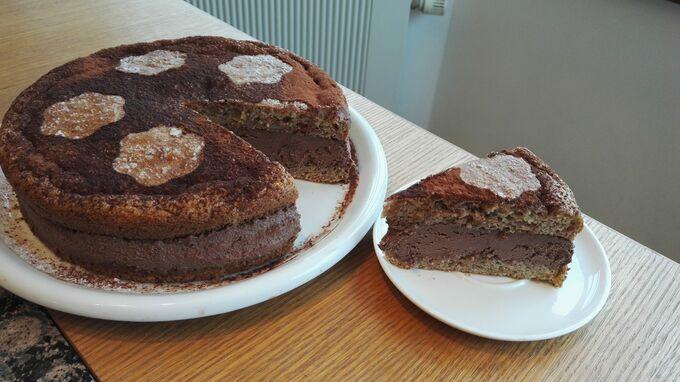 Recept Zdravý arašídový dort bez mouky