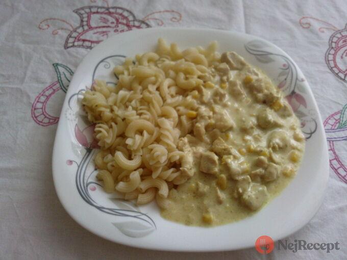 Recept Kuřecí v sýrové omáčce