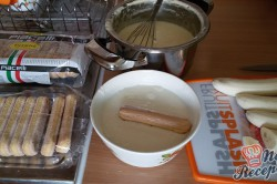 Příprava receptu Kokosovo banánové tiramisu - FOTOPOSTUP, krok 7