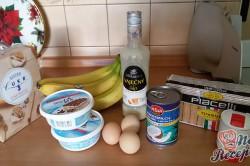 Příprava receptu Kokosovo banánové tiramisu - FOTOPOSTUP, krok 1